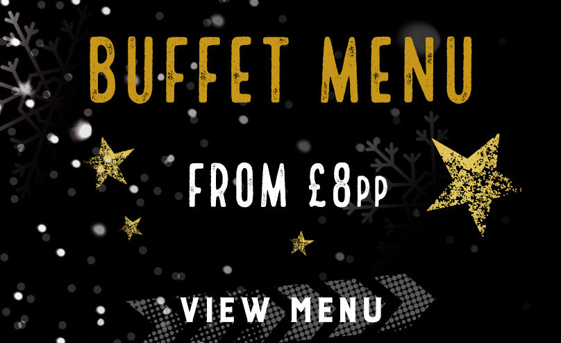 Festive buffet menu at The Hole in the Wall