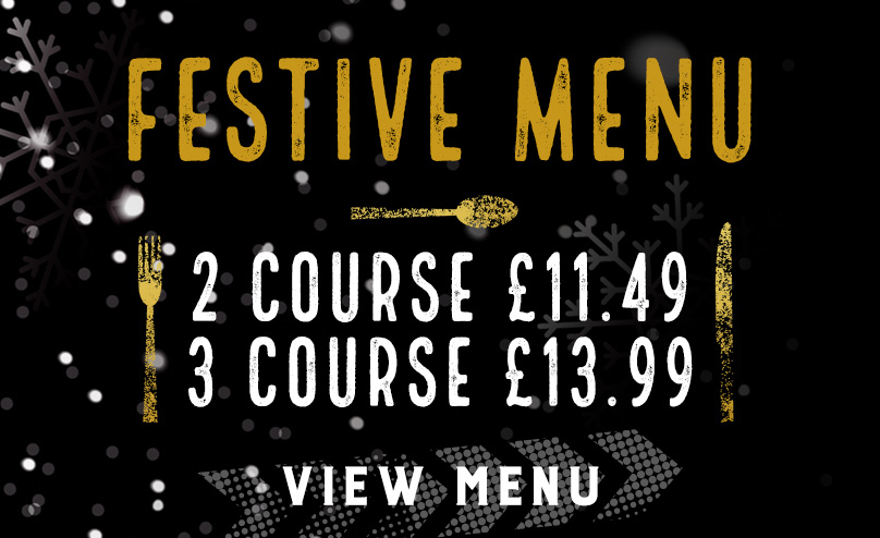 Festive Menu at The Hole in the Wall