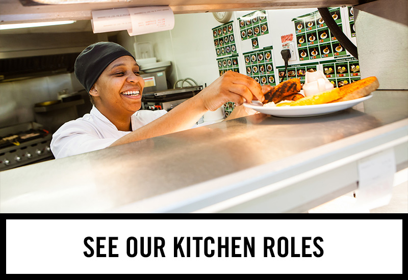 Kitchen roles at The Hole in the Wall