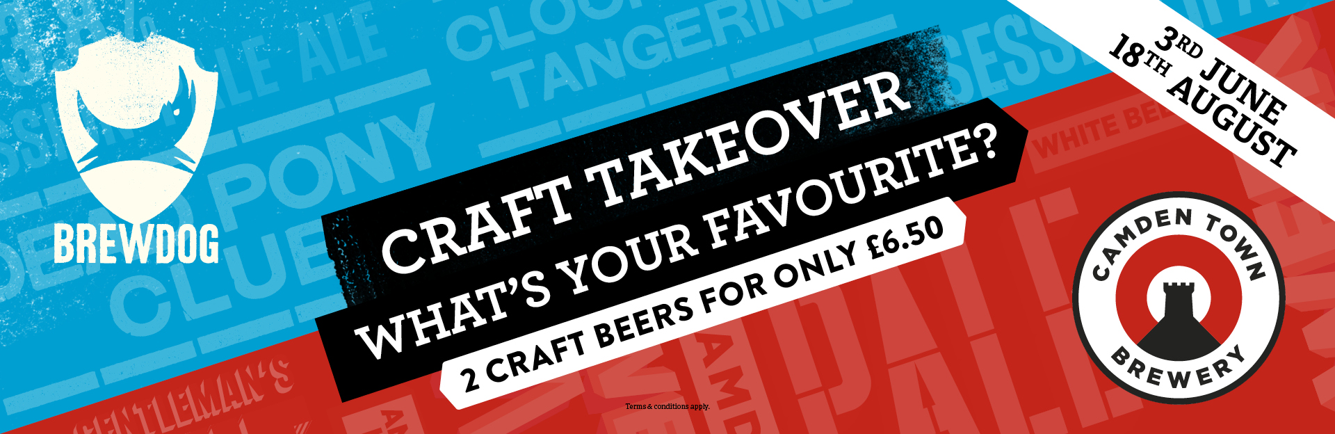 Craft Takeover at The Hole in the Wall